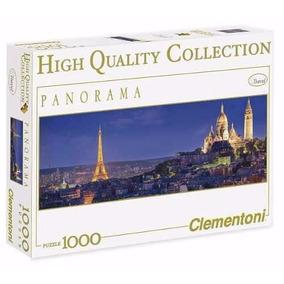 Promoção Quebra Cabeça Puzzle 1000 Pç Panorama Soiree Paris