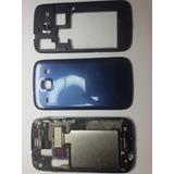 Carcaça Completa Samsung Galaxy S3 Duos I8262 Azul