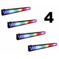 Combo 4 Barras Led 8 Pixeles Poderosa