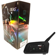 Intercomunicador V6 Pro Ejeas Bluetooth Moto - Solomototeam