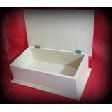 Caja Tipo Alhajero Nº4 Fibrofacil Para Pintar Morema Trece