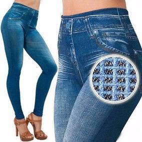 Calças Leggins Jeans - Empina Bumbum E Define Silhueta - 10