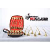 Espuelas De Gallos Premium Curvas/semicurva/rectas X10 Pares