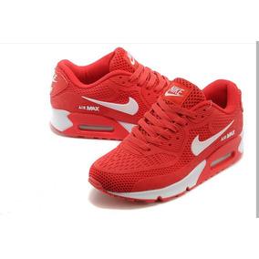 zapatillas nike hombre rojas