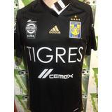 Oferta Jersey adidas Tigres Negro Oficial 100% Original