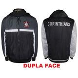 Agasalho Corinthians Dupla Face