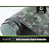 Vinil Camuflaje Digital Pixelado Moldeable 1.52 X0.50