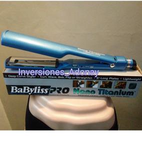 Plancha Babyliss Pro Nano Titanium Alizadora
