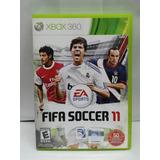Juego Original Xbox 360 Fifa 11, Perfecto Estado