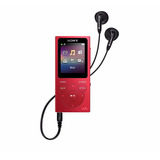 Sony Nwe395-r Walkman 16gb Reproductor Mp3, Pcm, Aac, Wma