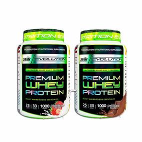 Star Nutrition Premium Whey Protein 1kg X 2 Unidades