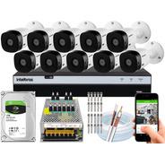 Kit 10 Câmeras Intelbras Full Hd 20m Vhl 1220b 2mp Mhdx 3116