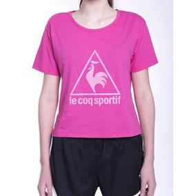 Remera Le Coq Sportif Logo Tee W Mujeres