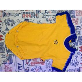 Body Manga Corta Bebe Boca Fútbol Design 3-6 Meses 7518c73b8ce32