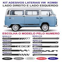 Acessorios Vw Kombi Adesivos Laterais Sport Standard