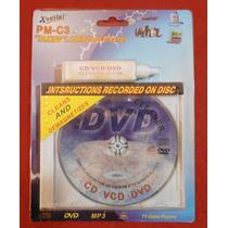 Limpiador Para Lentes Optico Lector Dvd Cd Mp3 Vcd