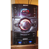 Equipo De Sonido Sony Genezi Referencia Hcd-gtr88 Usado