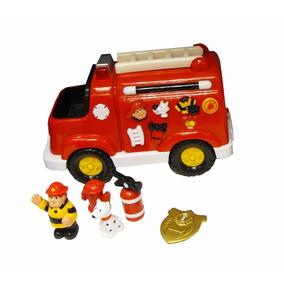 Camión Didáctico Luces Sonidos Ambulancia Bombero Winfun