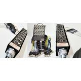 Kit 01 Medusa 12 Vias Mola E Prensa 12 Xlr Femea Instalados