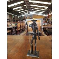 Exclusiva Escultura De Don Quijote De La Mancha En Bronce.