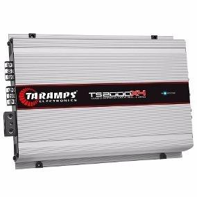 Módulo Digital Ts-2000x4 4ch 2000 Wrms 2 Ohms Taramps Ts2000