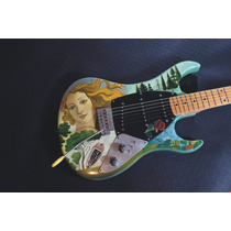Guitarra Santanera Luthier / Stratokramer