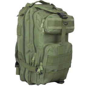 Mochila Backpack Militar 30 Litros Tactica Verde D3016