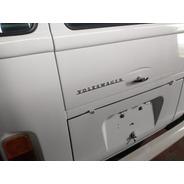 Emblema Volkswagen Tampa Traseira Kombi Alemã - Restaurakar