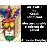 Mascara Aku Aku Crash Bandicoot Cosplay Prop