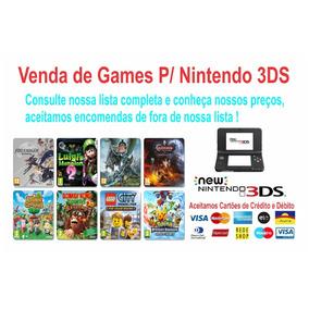 1 Patch De Jogo A Sua Escolha De Nintendo 3ds