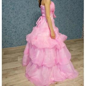 Vestido Festa 15 Anos Debutante Juvenil/adolescente Rosa
