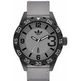 Hombres adidas Originals Newburgh Tela Gris Reloj Adh3079