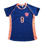 Camiseta Mujer Futbol Voley Handball Personalizada X Mayor