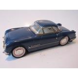 Antigo Carrinho De Lata Corvette 1953 - A Fricção - 1:18