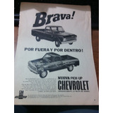 Antigua Publicidad Pick Up Chevrolet La Brava