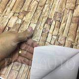 2 Bobinas Adesivo Tipo Pedra Canjiquinha - 10m X 45cm Cada