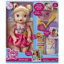 Baby Live Hora De Comer B7022 Hasbro Original