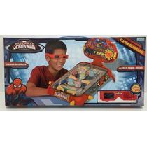 Flipper Interactivo Spiderman Hombre Araña