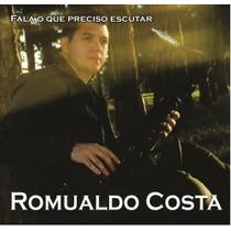 Cd Gospel Mp3 (fala O Que Preciso Escutar) Romualdo Costa