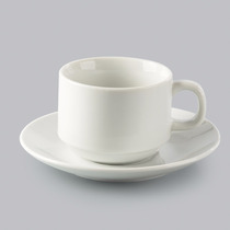 Jogo 6 Xícaras Chá Píres Porcelana Hotel R 17097