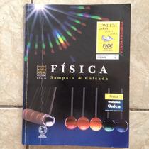 Livro Física Sampaio & Calçada Ensino Médio Volume Único