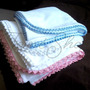 Manta Colcha Cobertor Ropa Bebe Niño Niña Mano Crochet Pima