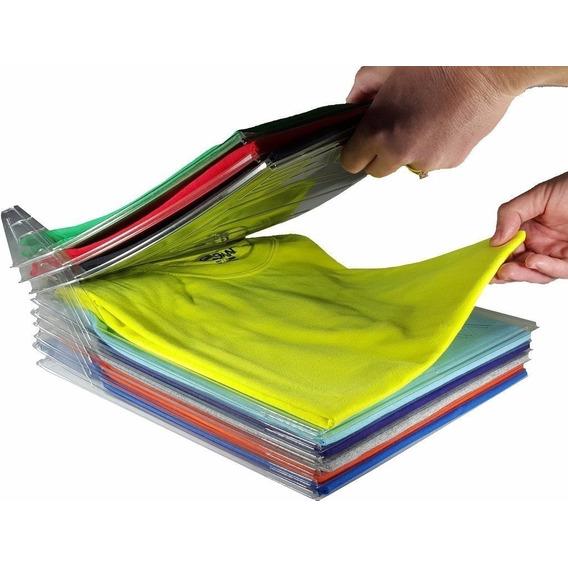 Organizador De Ropa Camisas Remeras Placard X10 + Archivador