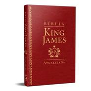 Bíblia King James Atualizada Slim Kja Vinho Luxo
