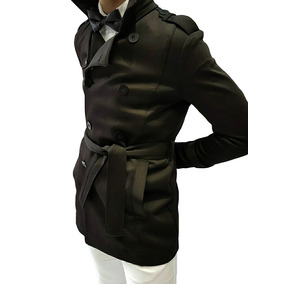 Trench Piloto Hombre Slim Fit