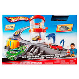 Hot Wheels Auto Lavado Triple Accion T3543