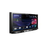 Pioneer Avh-x490bs Doble Din Bluetooth En El Tablero De D...