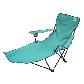 Silla Camping Larga Verde