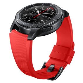 Banda De Silicona Para Gear S3 Active Rojo Acce Samsung