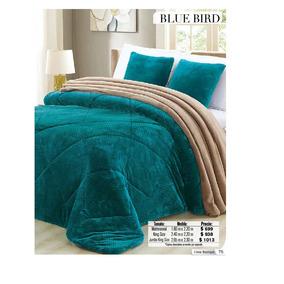 Cobertor Blue Bird Ks Regina Reverso Borrega
